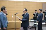 TX議連葉梨会長へ要望書提出(平成30年6月19日)