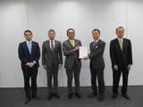 首都圏新都市鉄道(株)への要望書提出(令和2年3月4日)