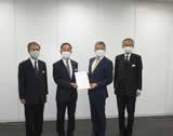 首都圏新都市鉄道(株)への要望書提出(令和2年6月25日)