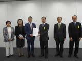 首都圏新都市鉄道(株)への要望書提出(令和元年12月18日)