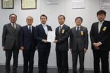 首都圏新都市鉄道(株)へ要望書提出(平成29年12月19日)